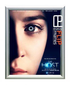 Flip Up Round Frame – The Host