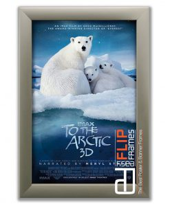 Flip up Poster Frame – To the Arctic 3d IMAX